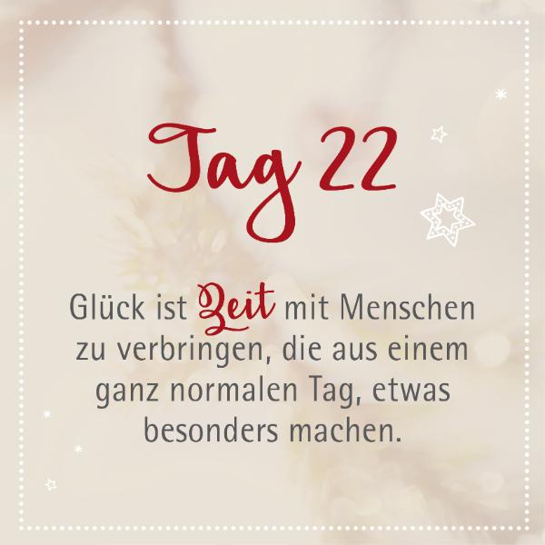 Edenlehen Adventkalender - Tag 22