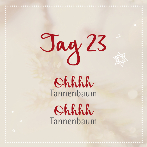 Edenlehen Adventkalender - Tag 23